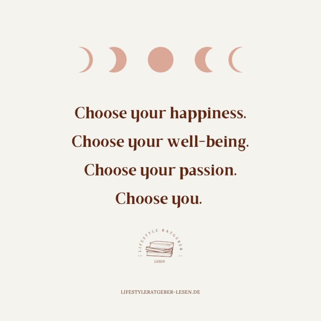 Choose your happiness. Quote Mindset